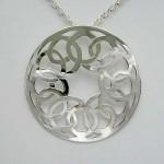 60's birthday celtic knot pendant