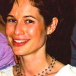 Bride with grey Pearl Necklace