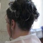 Frameless Tiara and strands