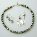 Heavenly Pearls - new pearls - green