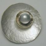 Pearl wedding Anniversary brooch